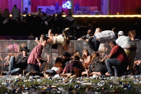 """AFP/""""Scanpix"""" nuotr./Susišaudymas Las Vegase"""