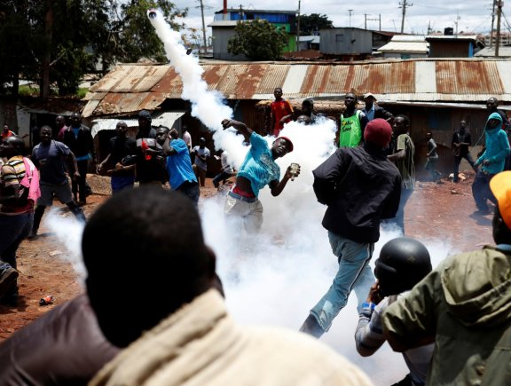 """Reuters""/""Scanpix"" nuotr./Demonstracija Kenijoje"
