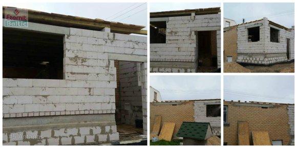 Konkurso dalyvių nuotr./Renovacijos kategorijoje nugalėtoju išrinktas pats sudėtingiausias – laužytų formų, įmantrus Ilonos Kaselienės iš Kaišiadorių rajono namo stogas.