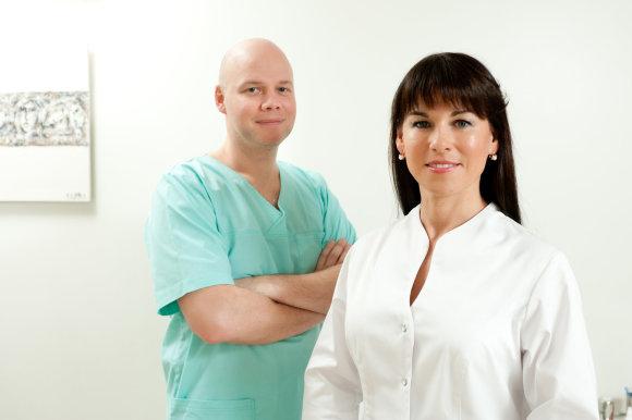 Straipsnio autoriaus nuotr./Dantų implantų klinika