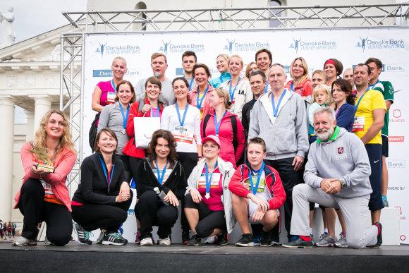 Organizatorių nuotr./Seimo, ministerijų ir ambasadų atstovai rungsis maratono trasoje