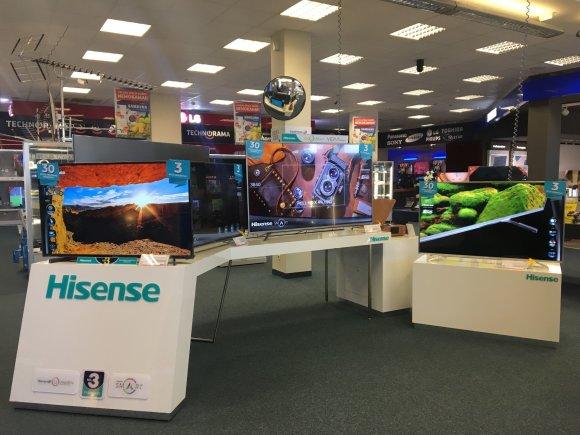 "Projekto partnerio nuotr./Kinų elektronikos milžinas ""Hisense"" tapo Pasaulio futbolo čempionato rėmėju"