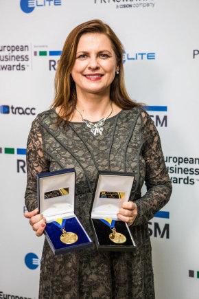 """""""European Business Awards"""" nuotr./""""Aviva Lietuva"""" generalinė direktorė Asta Grabinskė"""