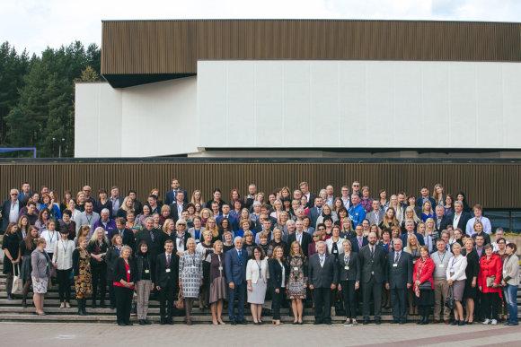 Partnerio nuotr./Tarptautinės konferencijos dalyviai