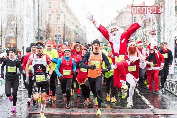 Organizatorių nuotr./Eurovaistinės Kalėdinis bėgimas