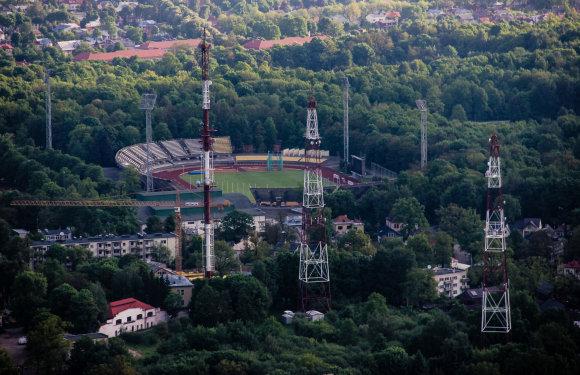 Karolinos Stažytės nuotr./Kauno S.Dariaus ir S.Girėno stadionas