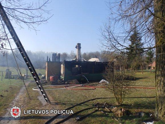 Marijampolės apskrities VPK nuotr./Įvykio vietoje