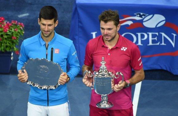 """Scanpix"" nuotr./""US Open"" finalas: Stanas Wawrinka – Novakas Džokovičius"