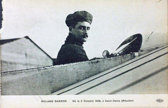 Vikipedijos nuotr./Rolandas Georges'as Garrosas