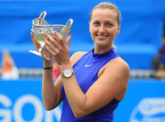 """Scanpix"" nuotr./Petra Kvitova prieš Ashleigh Barty"