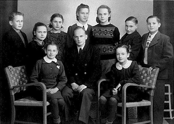 Leono Narbučio asmeninio archyvo nuotr./L. Narbučio šeima