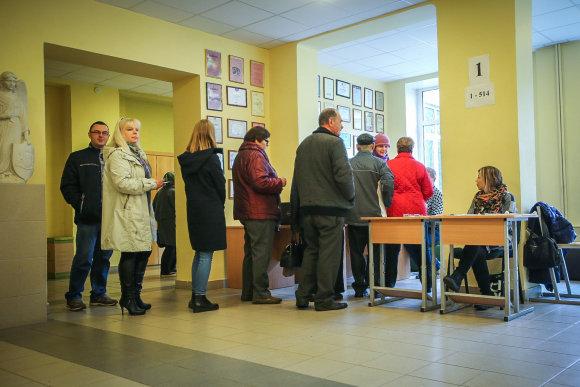 Vidmanto Balkūno / 15min nuotr./Rinkimai Varėnoje ir Senojoje Varėnoje