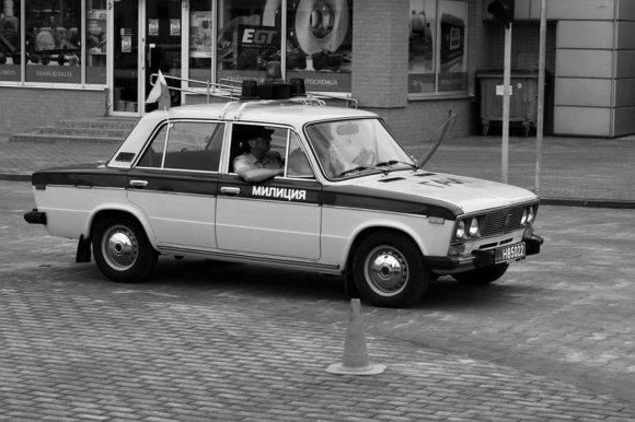 "Asociacijos ""Retromobile"" nuotr. /Milicijos automobilis"