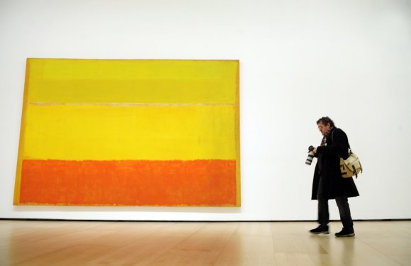 """Reuters""/""Scanpix"" nuotr./JAV dailininko Marko Rothko paveikslas"