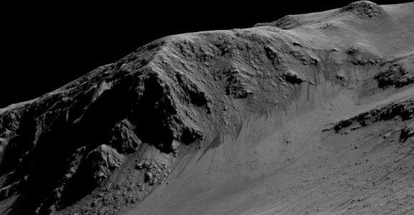 NASA/JPL/Arizona state university/Įrodymai, kad Marse yra skysto vandens