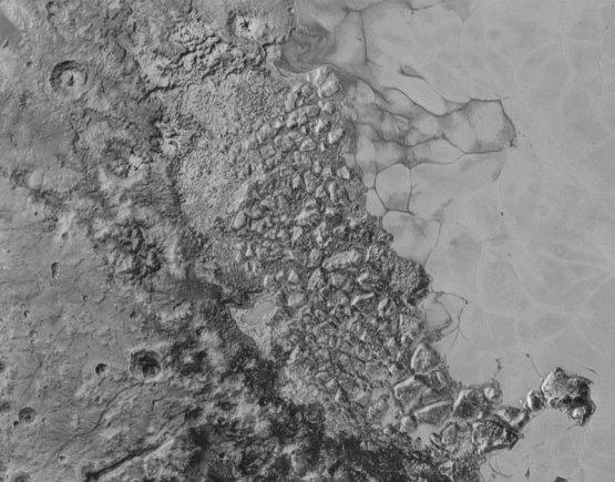 NASA/ New Horizons nuotr./Plutono paviršius