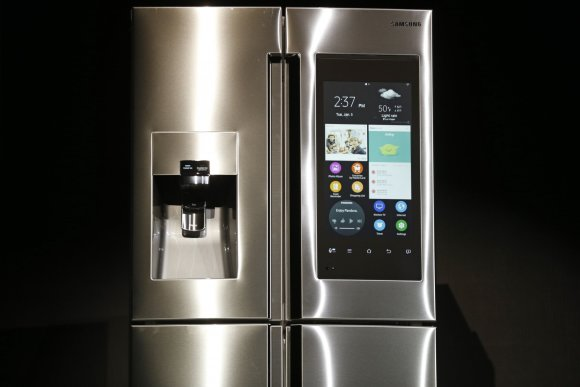 "Scanpix nuotr./""Samsung Family Hub"" šaldytuvas"