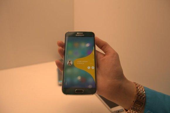 """Pauliaus Grinkevičiaus nuotr./""""Samsung Galaxy S6 Edge"""""""