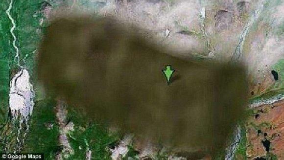 Google Earth/Slaptų miestų bazė Rusijoje