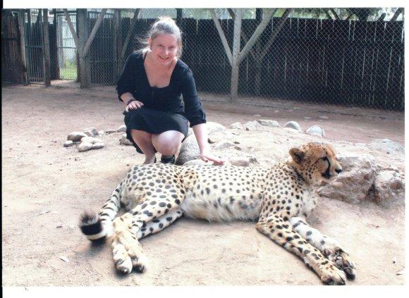 Egzotiška, bet produktyvi ir naudinga praktika Pietų Afrikos Respublikoje.Asmeninio archyvo nuotr.