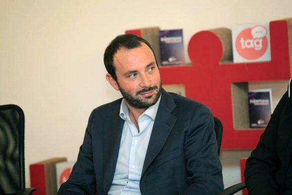 """Kūrybinių inovacijų festivalio """"SUPERNOVA"""" sumanytojas Lorenzo Maternini"""
