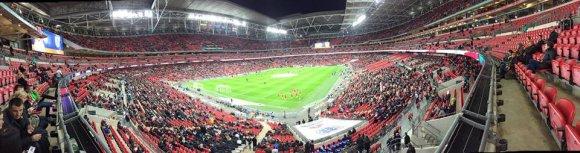 "Asmeninio albumo nuotr./""Wembley"" stadionas"