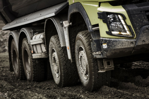 """Volvo Trucks"" nuotr./""Automatic Traction Control"""