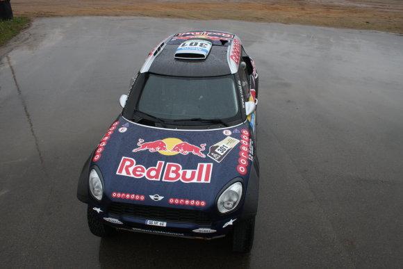"""Organizatorių nuotr./Dakaro nugalėtojo """"Mini"""""""
