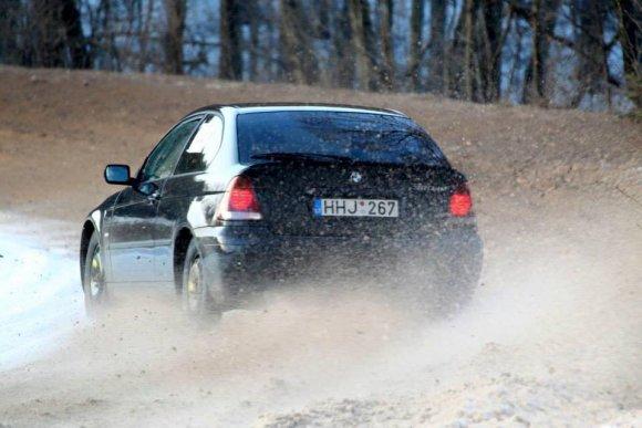 nuotr. iš asmeninio archyvo/Deividas Praščiūnas lenktynėse