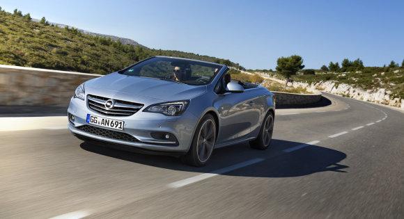 """""""Opel"""" nuotr./""""Opel Cascada"""""""