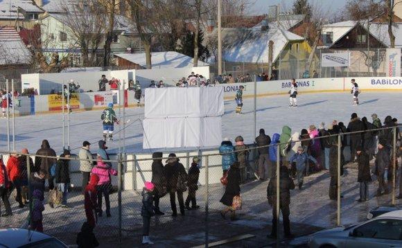 Nacionalinės ledo ritulio lygos nuotr./Panevėžio ledo arena