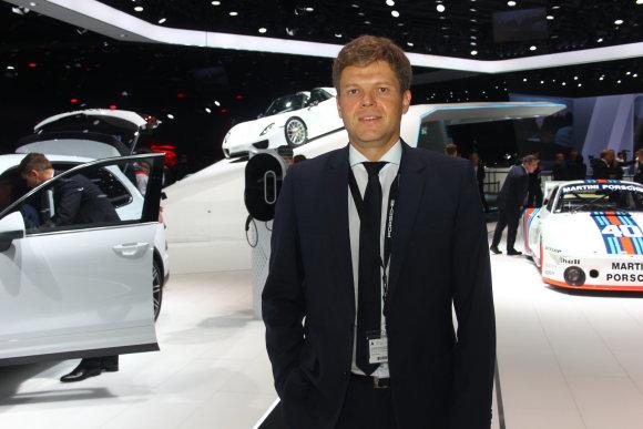 "Tomo Markelevičiaus nuotr./ ""Porsche"" projektų vadovas dr. Stefanas Weckbachas"