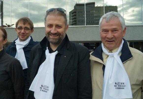 Nuotr. iš asm. Ryčio Mykolo Račkausko archyvo/Rytis Mykolas Račkauskas (antras iš dešinės)
