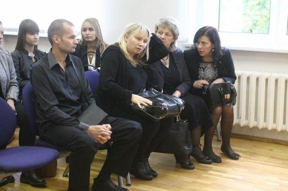 Tomo Markelevičiaus nuotr./Teismo posėdyje