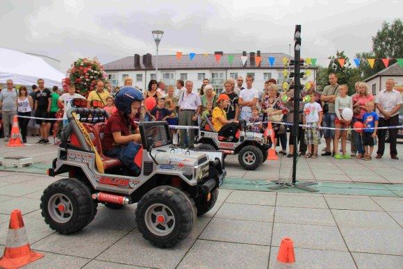 Organizatorių nuotr./Vaikų lenktynės