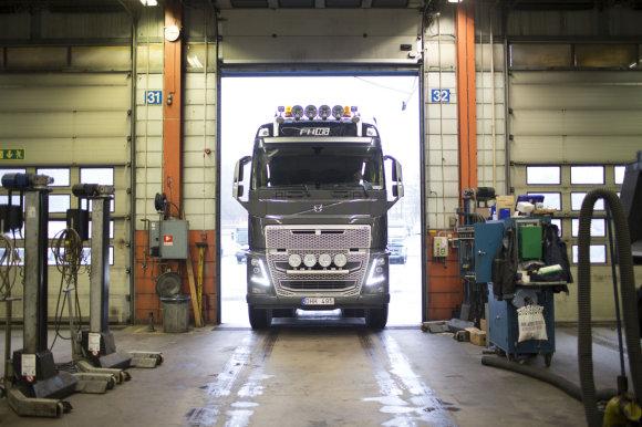 """""""Volvo Trucks"""" nuotr./""""Volvo Trucks"""" servisas"""