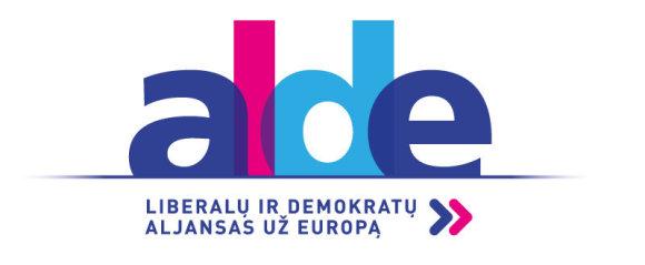 ALDE logotipas 2017
