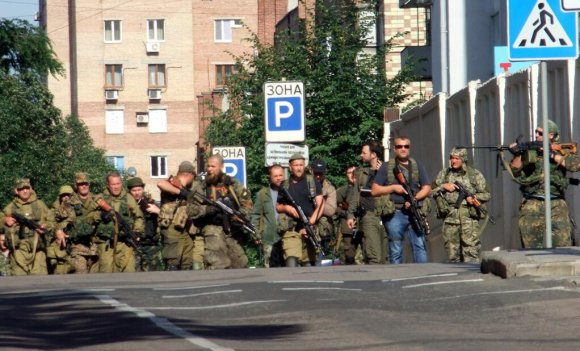 Donecko teroristai