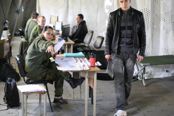 Alvydo Januševičiaus nuotr./Mobilizacijos pratybos Šiauliuose