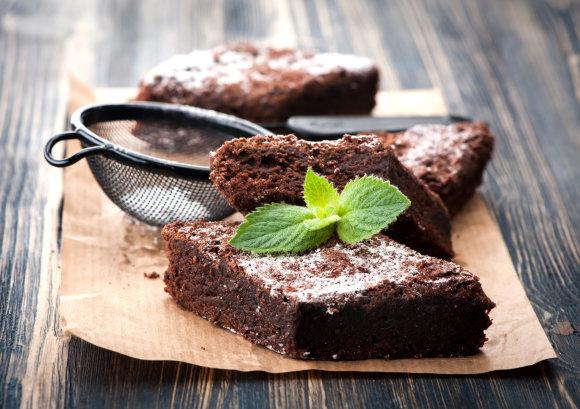 Fotolia nuotr./Šokoladinis pyragas.