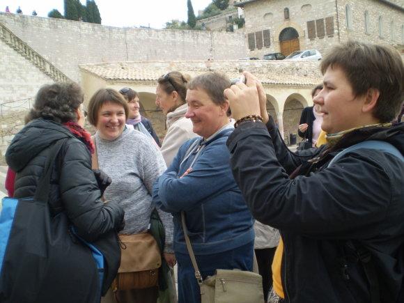 Asmeninio archyvo nuotr./Jolita Šarkaitė Italijoje