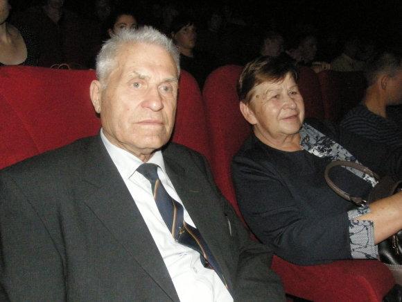 Sauliaus Tvirbuto/15min.lt nuotr./Antanas Lukša su žmona Eugenija