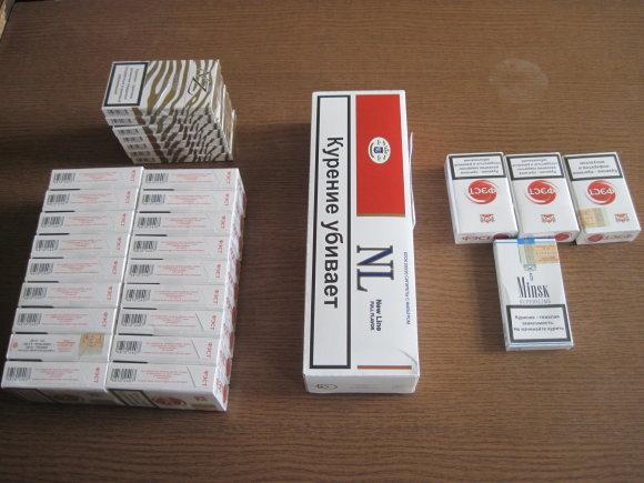 Kauno apskrities VPK nuotr./Cigaretės