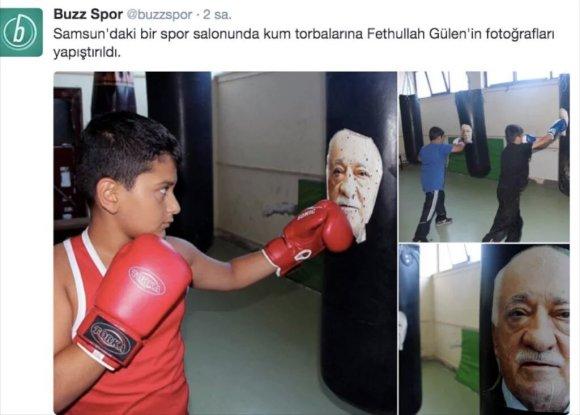 """""""Twitter"""" nuotr./F.Güleno atvaizdas – ant bokso kriaušių"""