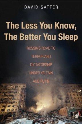 """""""Facebook"""" nuotr./Davido Satterio knygos apie Rusiją viršelis."""