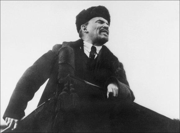 """AFP/""""Scanpix"""" nuotr./Vladimiras Leninas 1918 metų spalį"""