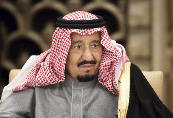 """""""Scanpix""""/AP nuotr./Saudo Arabijos karalius Salmanas"""