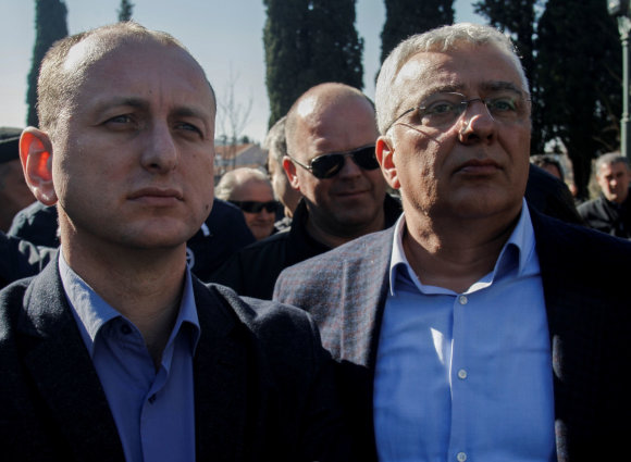 """Reuters""/""Scanpix"" nuotr./Milanas Kneževičius ir Andrija Mandičius"