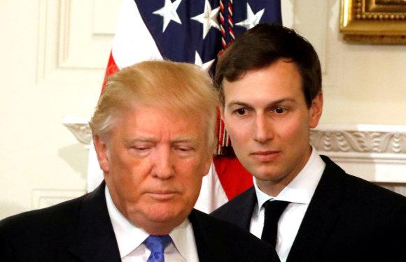 """""""Reuters""""/""""Scanpix"""" nuotr./Donaldas Trumpas ir Jaredas Kushneris"""