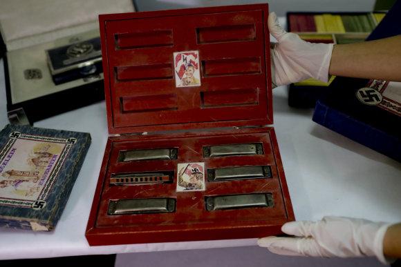"""""""Scanpix""""/AP nuotr./Argentinoje rasta didelė nacių daiktų kolekcija"""